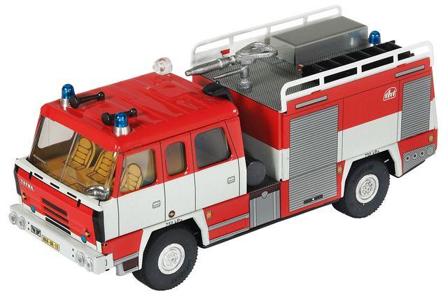 plechové modely - TATRA-815-hasič