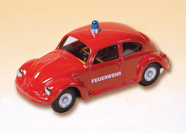 plechové modely - VW brouk hasič