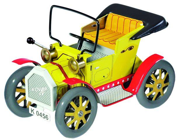 plechové modely - Dědeček automobil