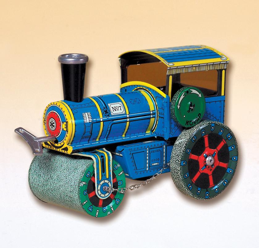 Plechové hračky - model silniční válec