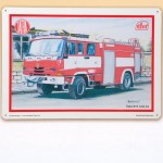 plechová tabule - Tatra hasič